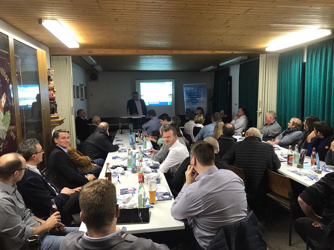 Verschuldung, FCE-Sportgelände und Kläranlage - bewegen in Seiboldsdorf die Gemüter. #TeamFUNKtioniert sagt Danke für`s starke Interesse.