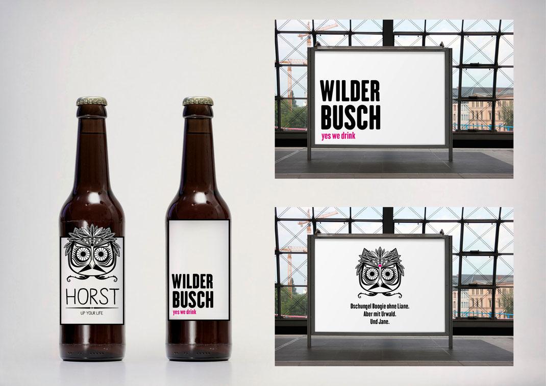 Bild: Portfolio Dorina Rundel - Grafikdesignerin: Entwürfe Produktdesign für Szenegetränk
