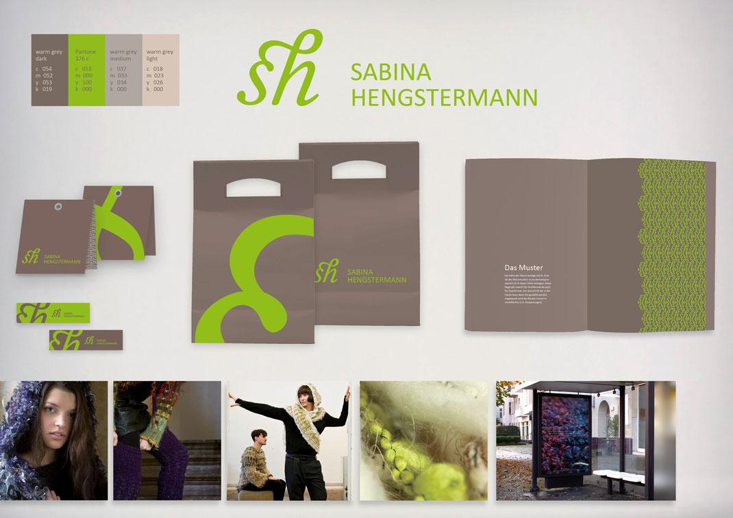 Bild: Portfolio Dorina Rundel - Grafikdesignerin: Sabina Hengstermann - Coporate Design