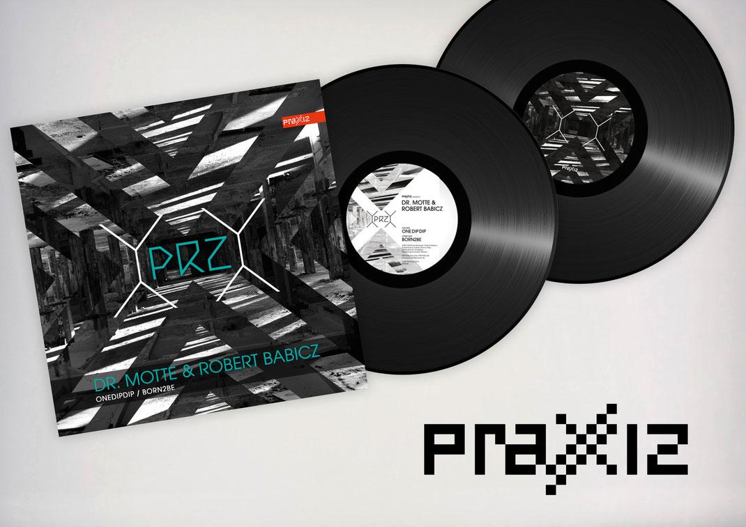 Portfolio Dorina Rundel - Grafikdesignerin: Praxxiz Label - Layout Printdesign
