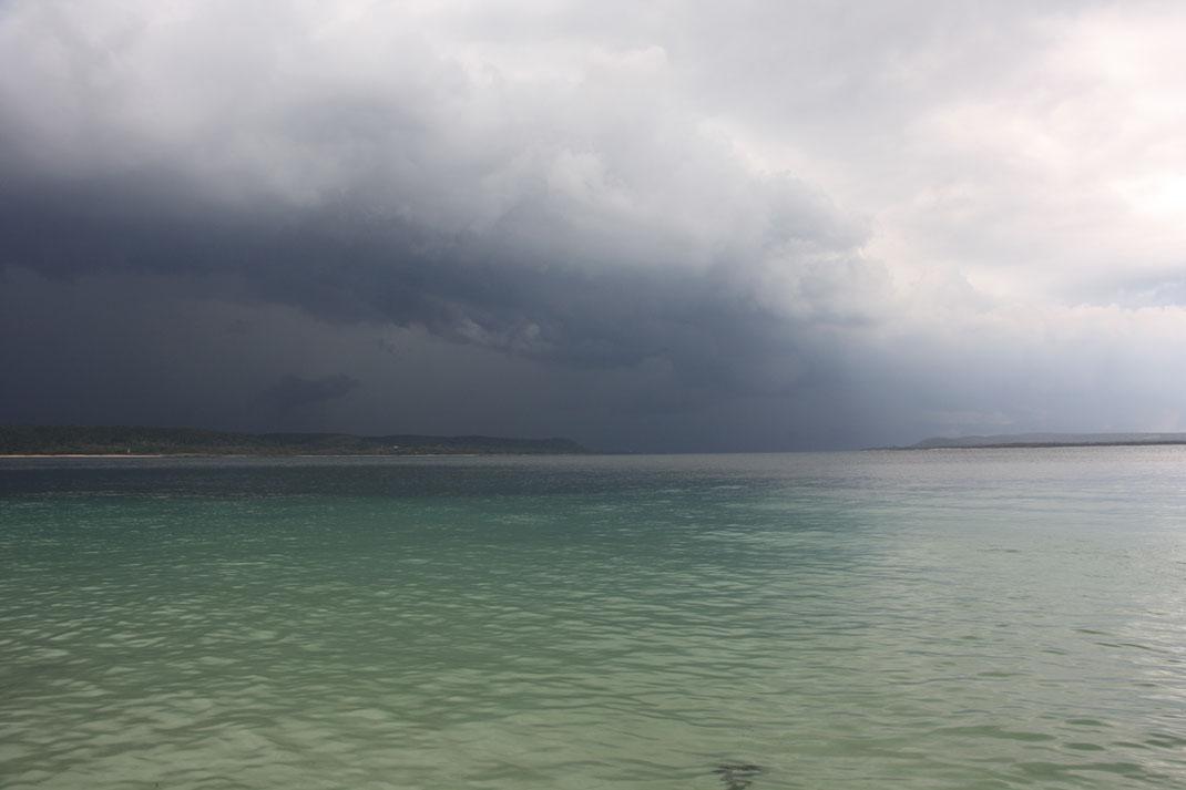 Zou er onweer aan komen?