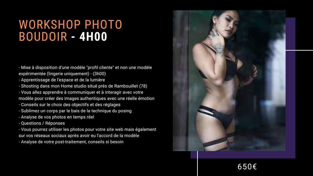 formation photo boudoir