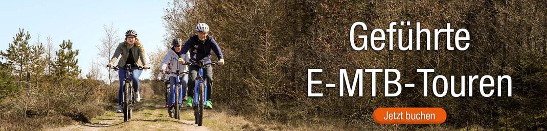 Geführte E-Mountainbike-Touren