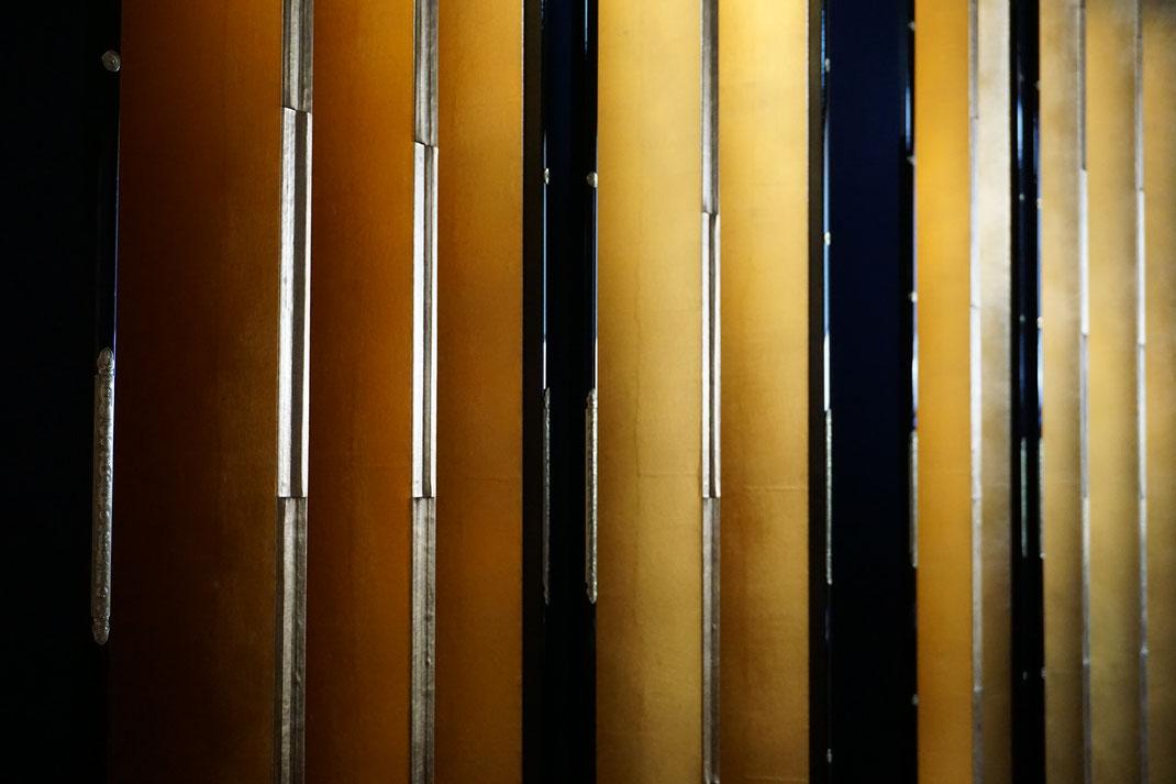 金屏風 製作 制作 修理 修復 銀屏風 販売
