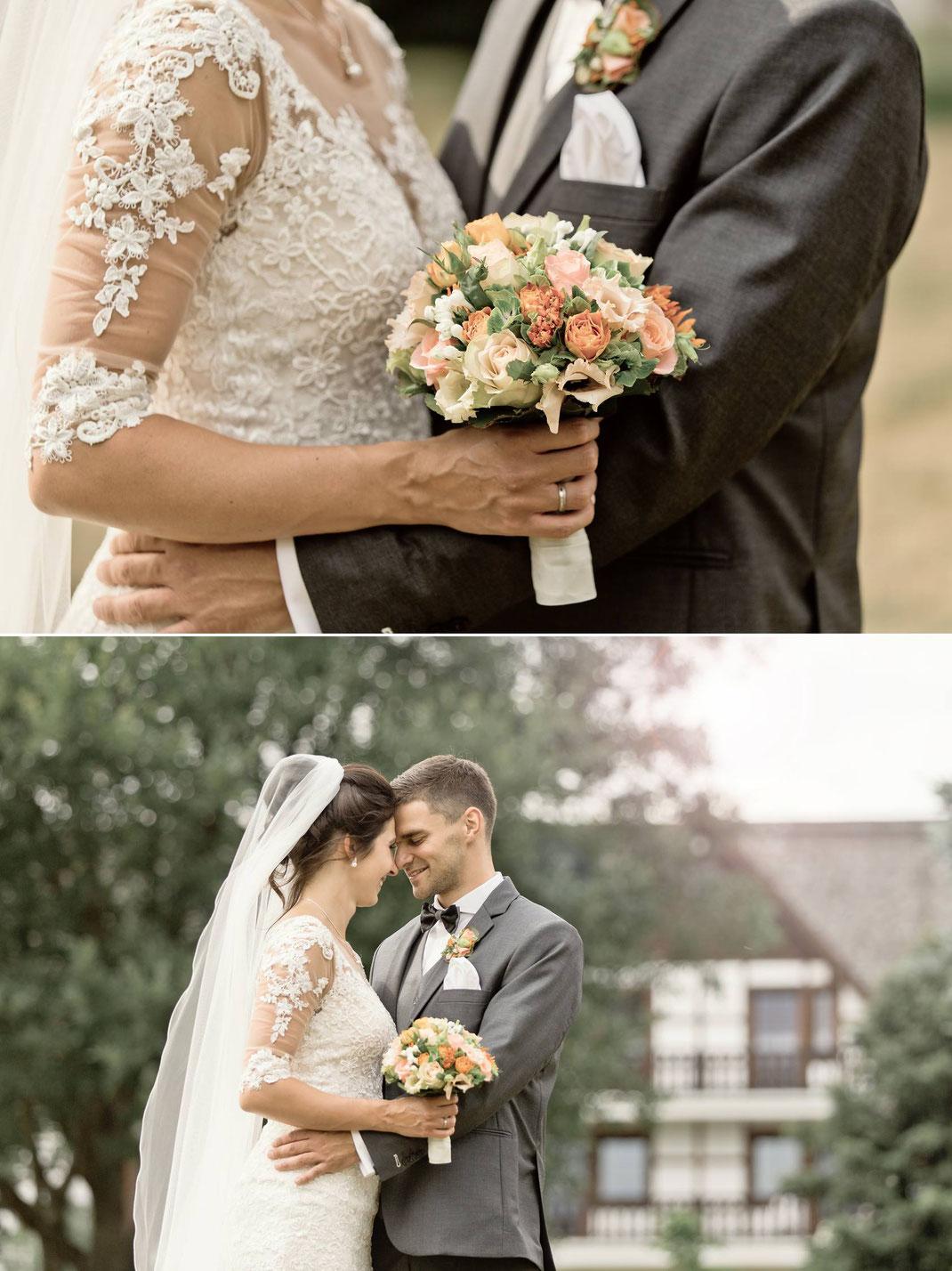 Brautpaar, braut, Bräutigam, hochzeit