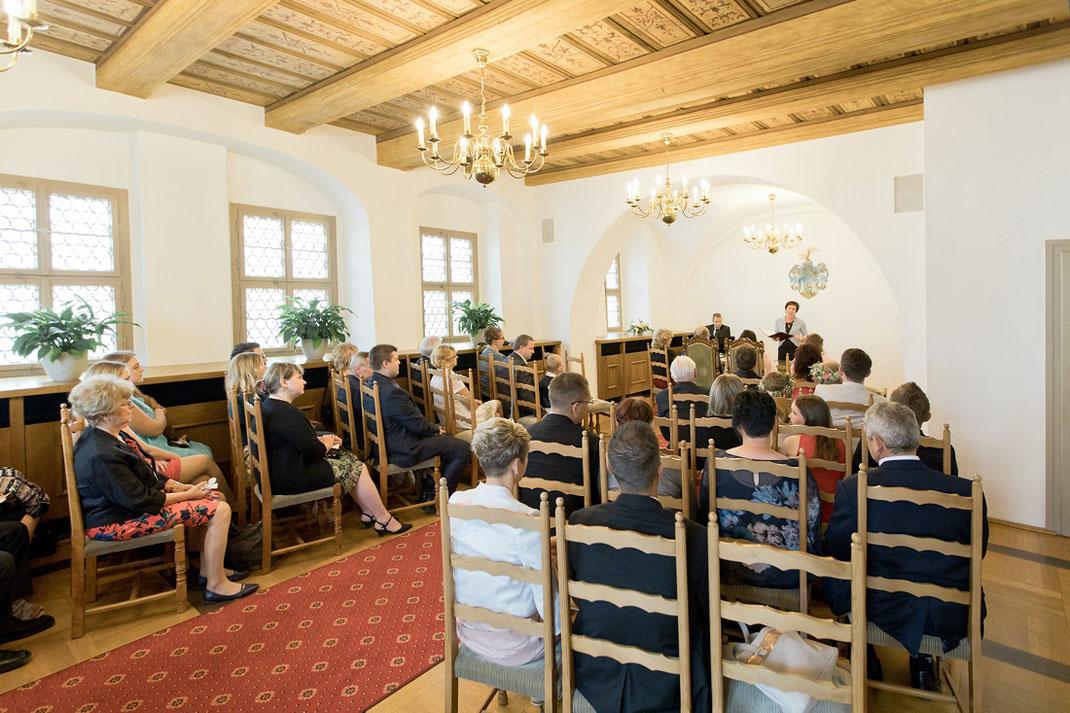 Trauzimmer Trausaal auf der Augustusburg, Hochzeit Augustusburg,