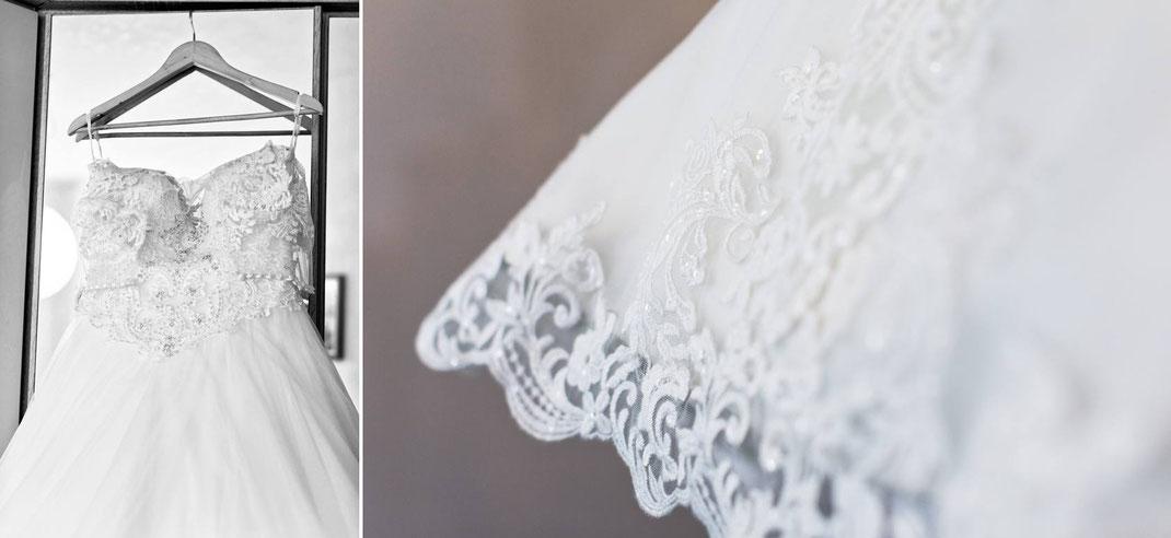 getting ready, brautkleid, brautvorbereitungen, braut, bride, dress, spitze, hochzeit, hochzeitskleid