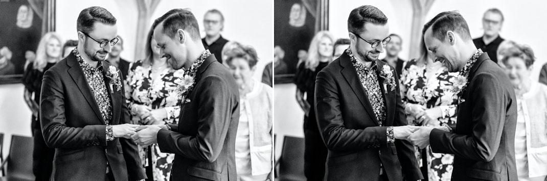 Männerhochzeit in Chemnitz - Gay Wedding - Hochzeit Rathaus Chemnitz