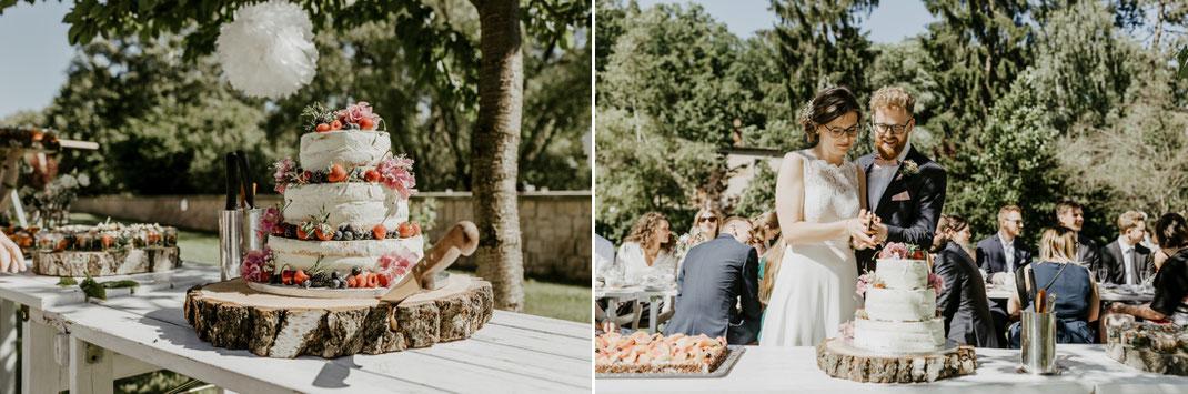 Hochzeitstorte von Tortenfantasy Zschopau