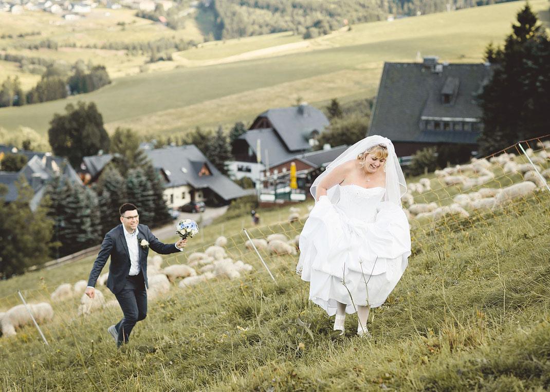 Hochzeitsfotograf oberwiesenthal Hochzeit oberwiesenthal fichtelberg