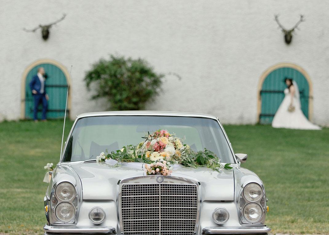Hochzeitsauto augustusburg