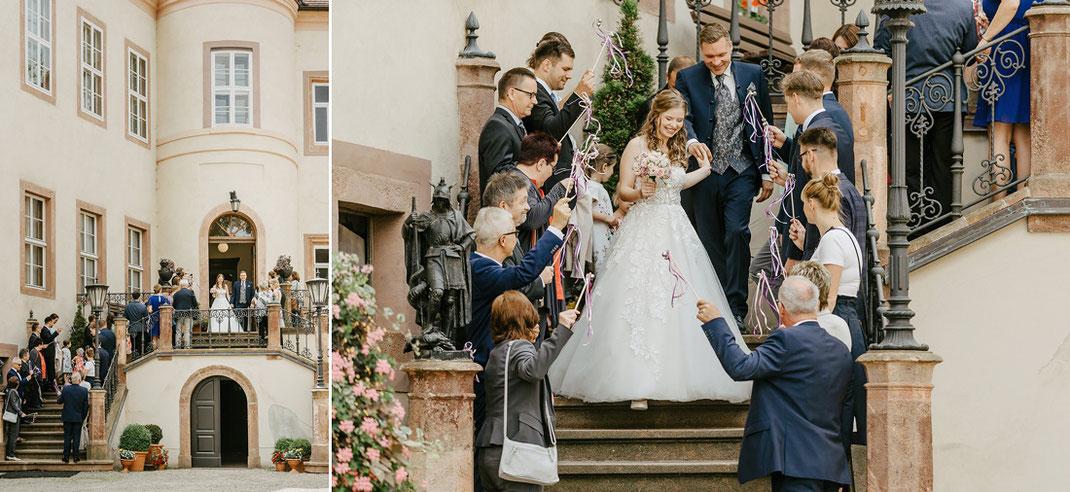 Schloss Wolkenburg Hochzeit von Hochzeitsfotograf Chemnitz Ben Pfeifer
