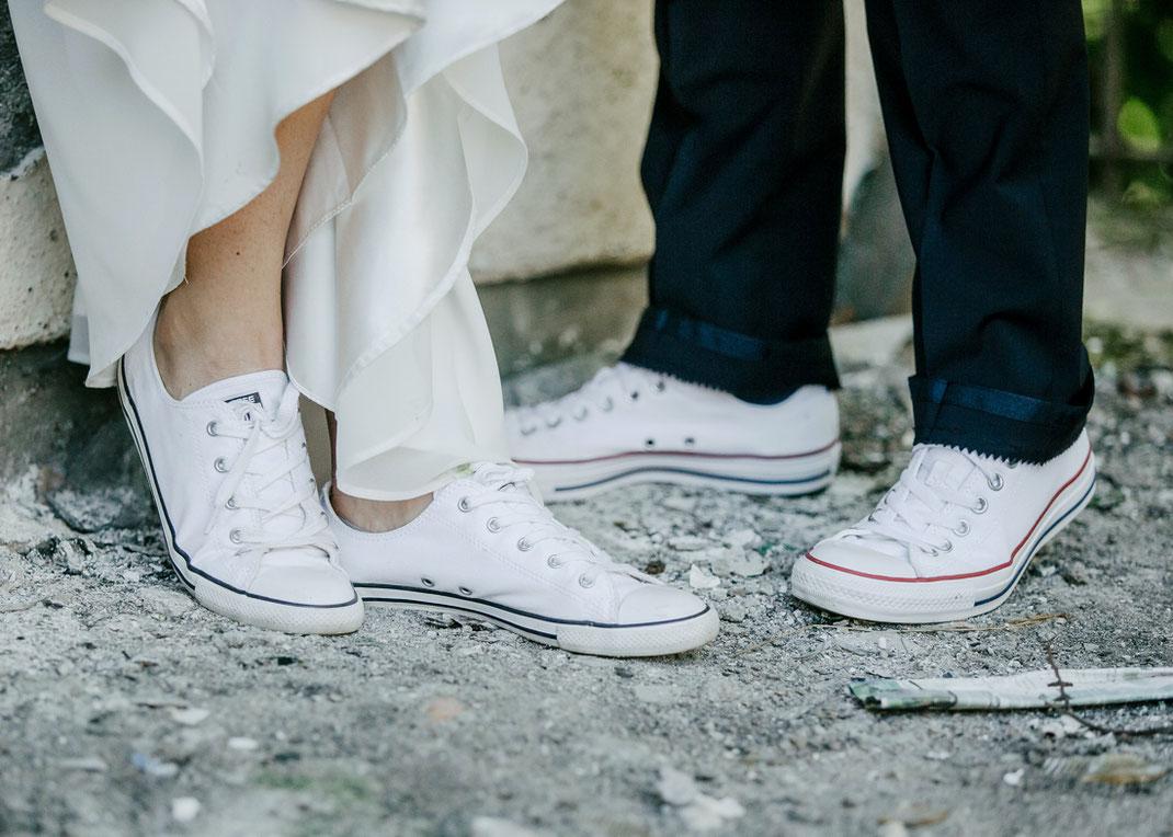 hochzeit in Turnschuhen, Wedding in sneekers