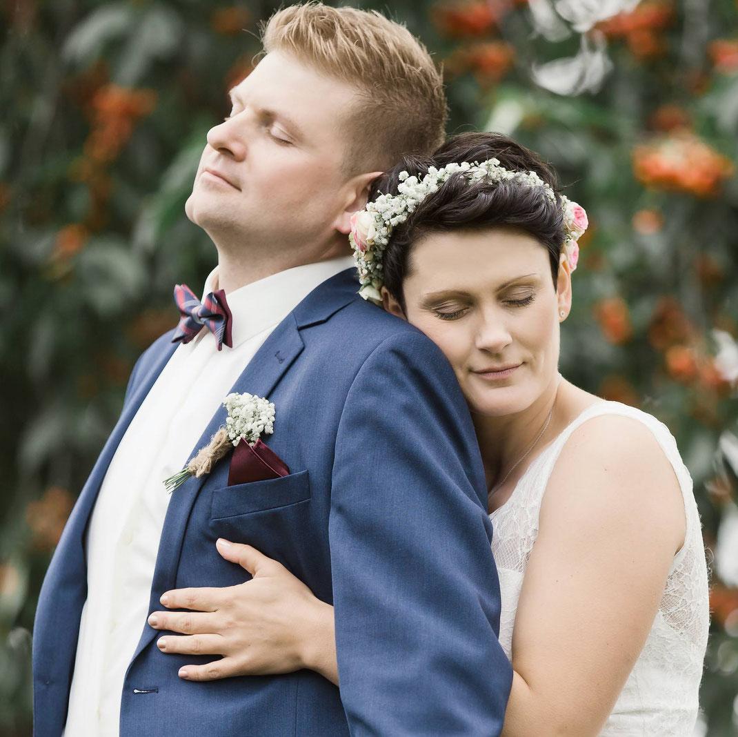 Hochzeitsfotos, Brautpaar,
