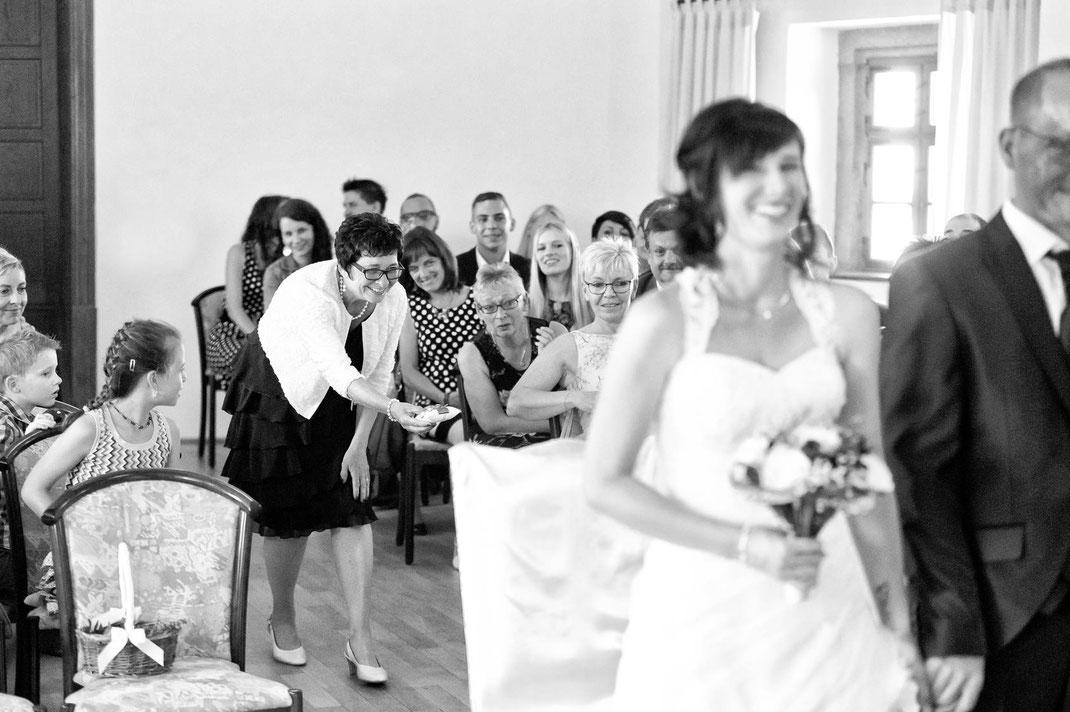 Hochzeit auf burg scharfenstein im Erzgebirge