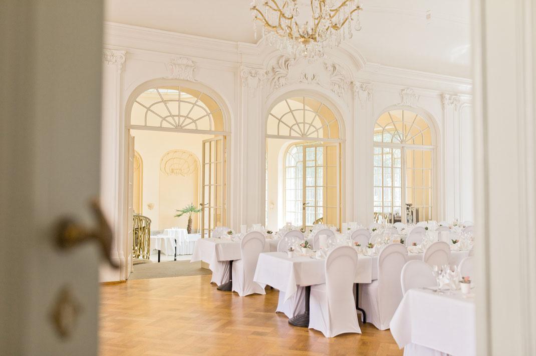 saal vitzthum, hochzeit schloss lichtenwalde, dekoration hochzeit vitzthum, restaurant vitzthum hochzeit