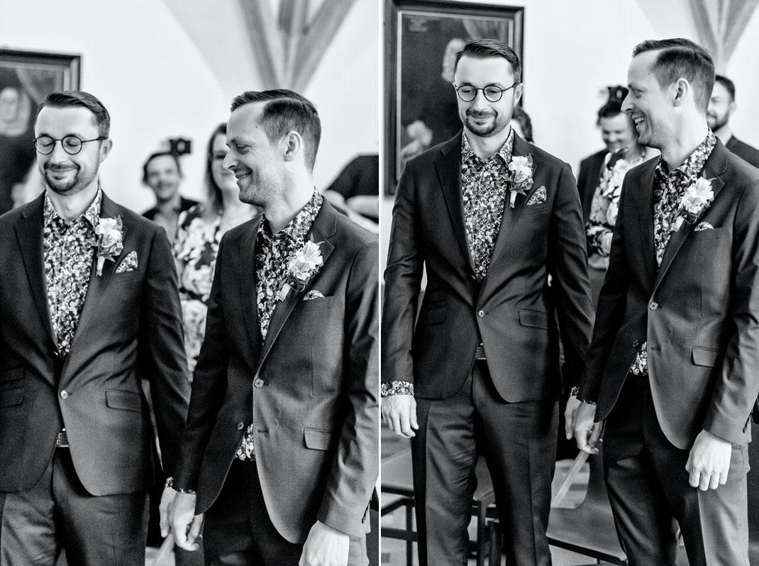 Männerhochzeit in Chemnitz - Gay Wedding - Hochzeit Rathaus Chemnitz - Hochzeit Pentagon 3 - Schwulen Hochzeit