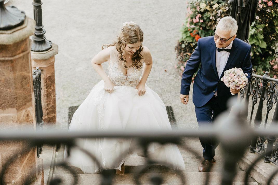 Hochzeit Schloss Wolkenburg von Hochzeitsfotograf Chemnitz Ben Pfeifer Standesamtliche Trauung 1