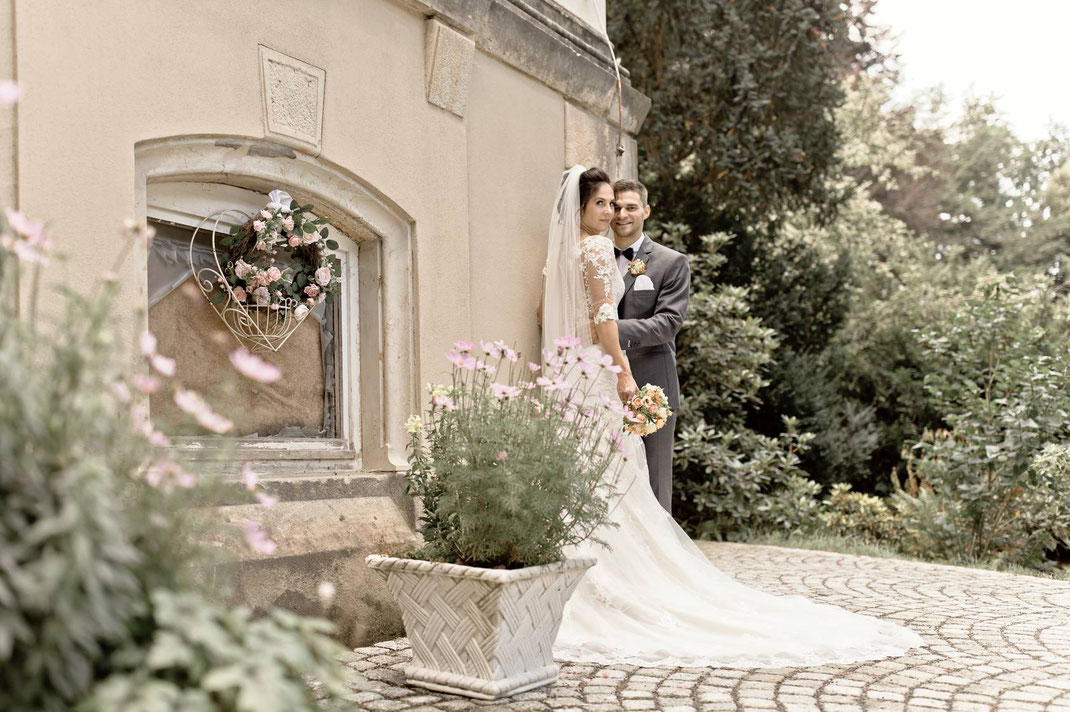 Hochzeitsfotos Vintage, Vintage, villa gückelsberg,