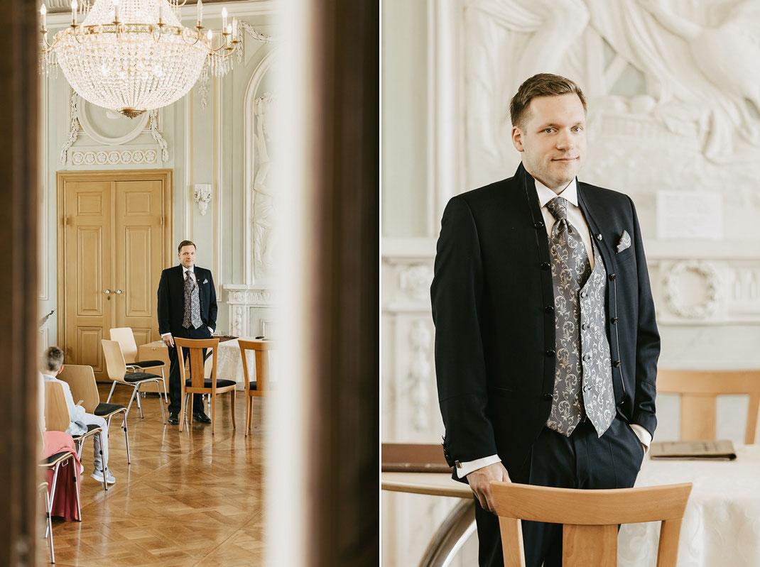 Hochzeit Schloss Wolkenburg von Hochzeitsfotograf Chemnitz Ben Pfeifer Standesamtliche Trauung 2