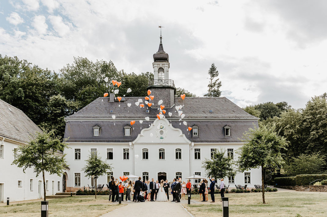 Das Schloss Rabenstein von außen