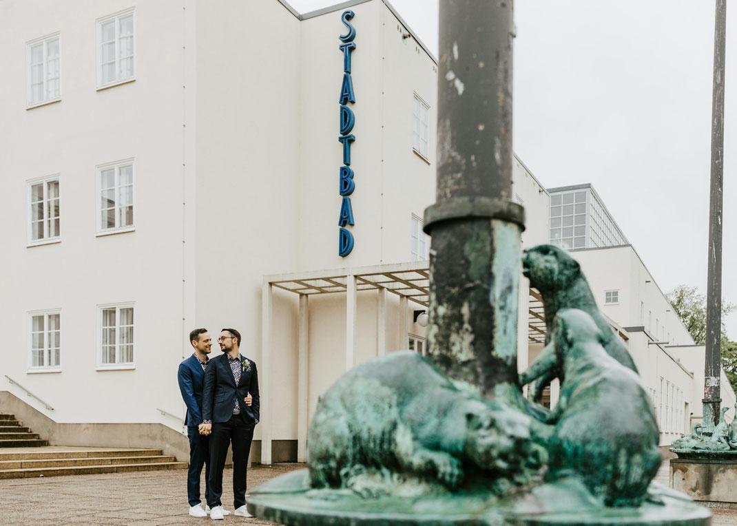 hochzeitsfotograf chemnitz, Männerhochzeit, hochzeit männer, schwule hochzeit, Stadtbad chemnitz