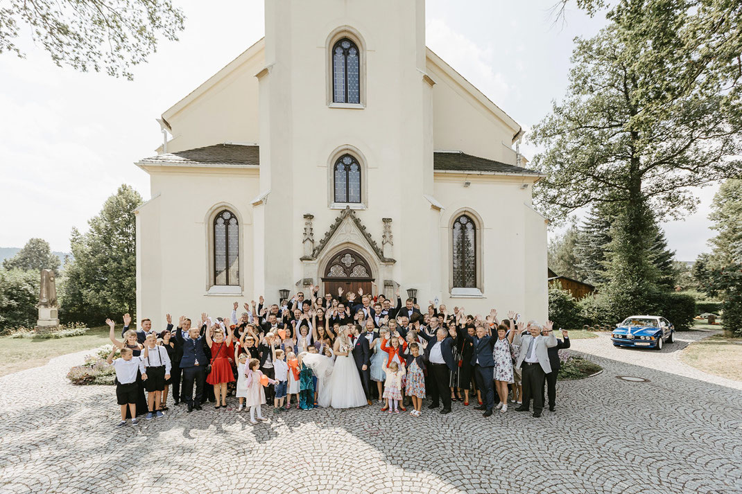 Foto Kirche Pockau Lengefeld