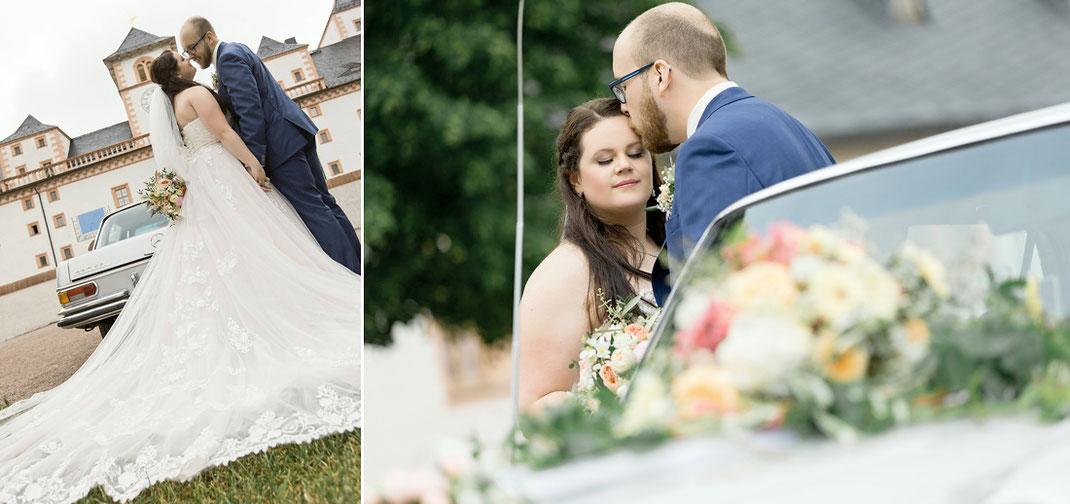 Hochzeit auf der Augustusburg in Sachsen fotoshooting