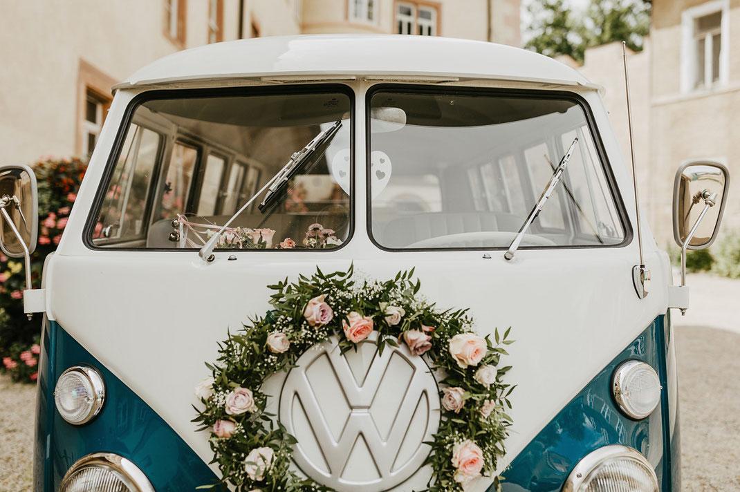 VW Bulli, VW Bulli Hochzeit, Volkswagen Bulli, Hochzeitsauto, Auto Hochzeit Chemnitz