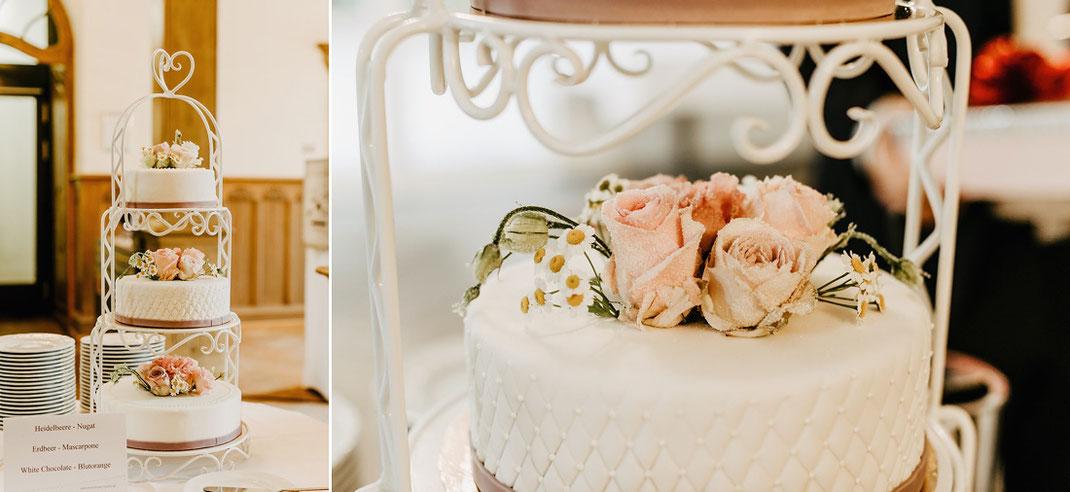 Konditorei seidel gelenau, Hochzeitstorte
