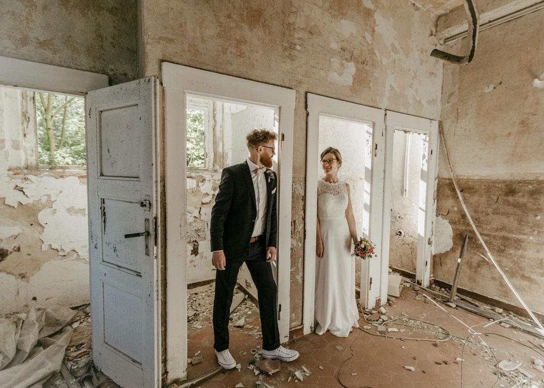 als Hochzeitsfotograf in flöha unterwegs