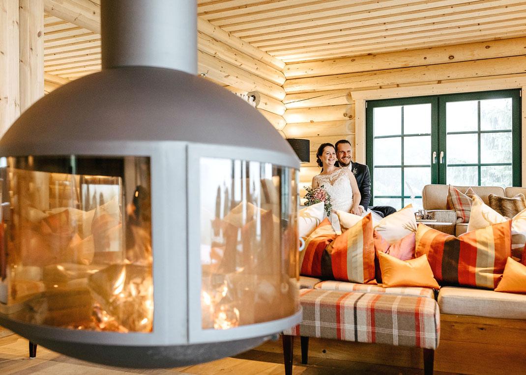 Relax Lodge im Hotel & Restaurant Jens Weissflog in Oberwiesenthal, Hochzeitsfotografie Erzgebirge, Heiraten im Erzgebirge