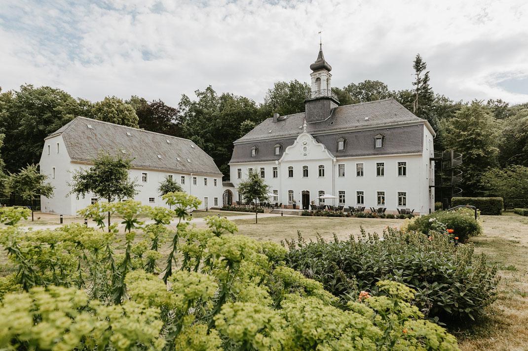 Hotel Schloss Rabenstein Außenansicht
