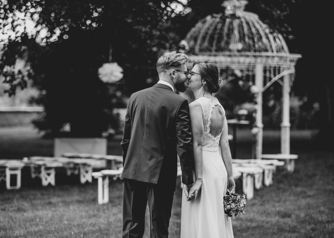 happy bride and groom in germany - a wedding story from photographer ben pfeifer