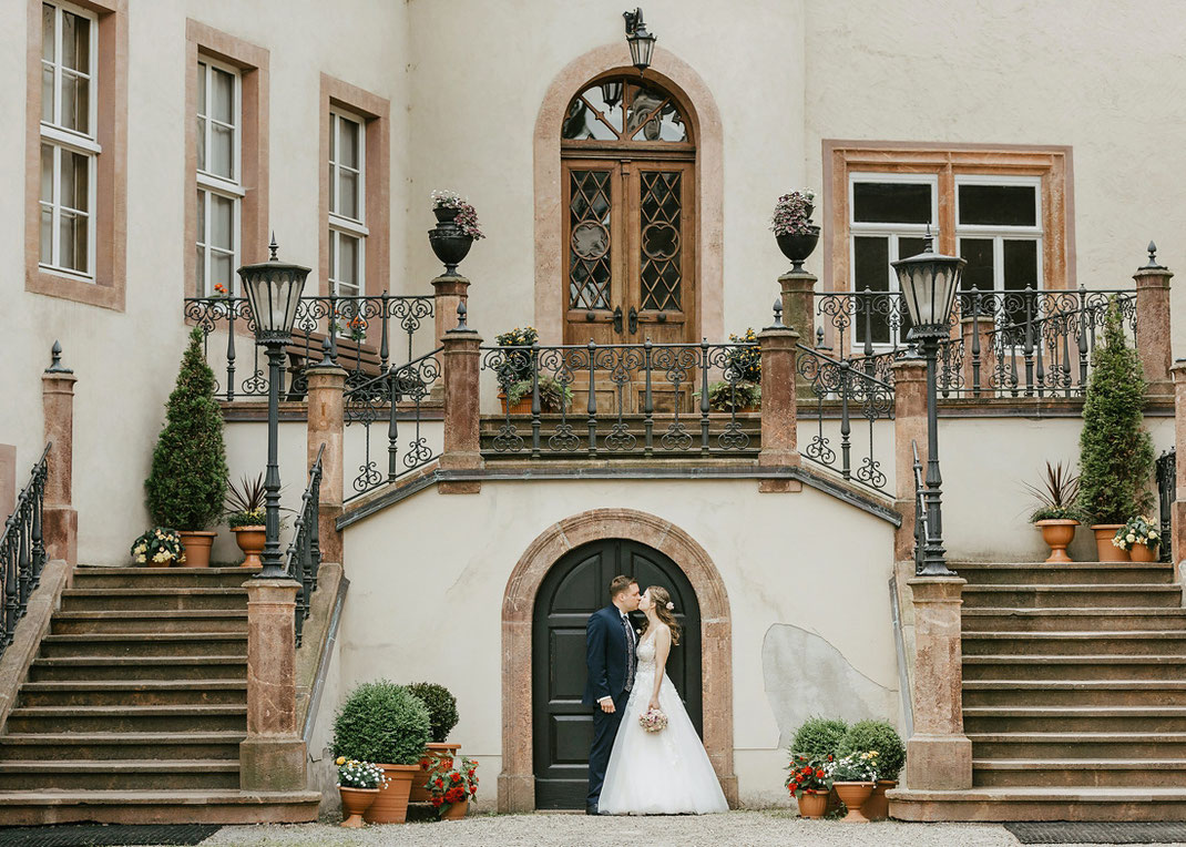 Schloss Wolkenburg Hochzeit Heiraten Hochzeitsfotos Bilder Fotos von Hochzeitsfotograf Ben Pfeifer Chemnitz