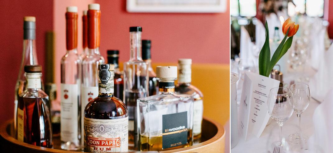 Rum im Restaurant Heck Art Chemnitz Hochzeit - Als Hochzeitsfotograf in Chemnitz