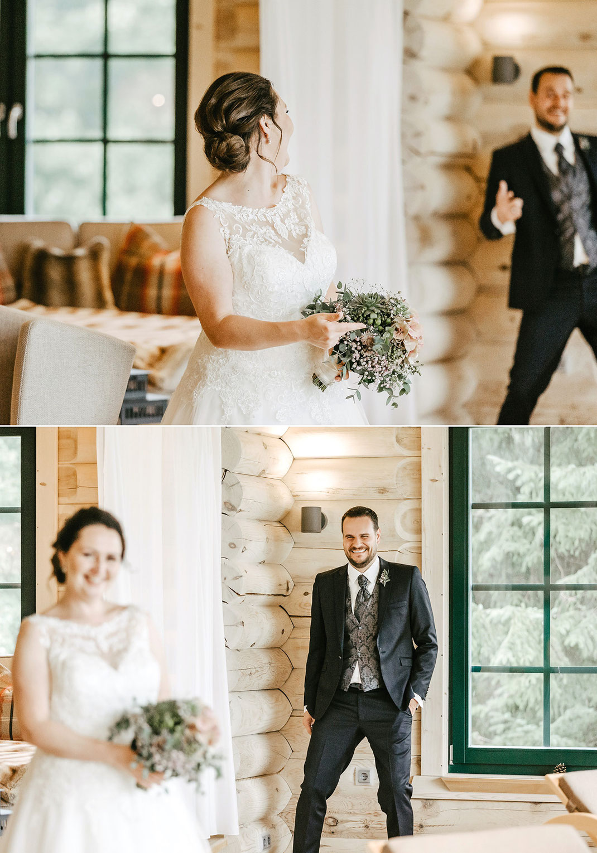 Brautpaar in Oberwiesnethal
