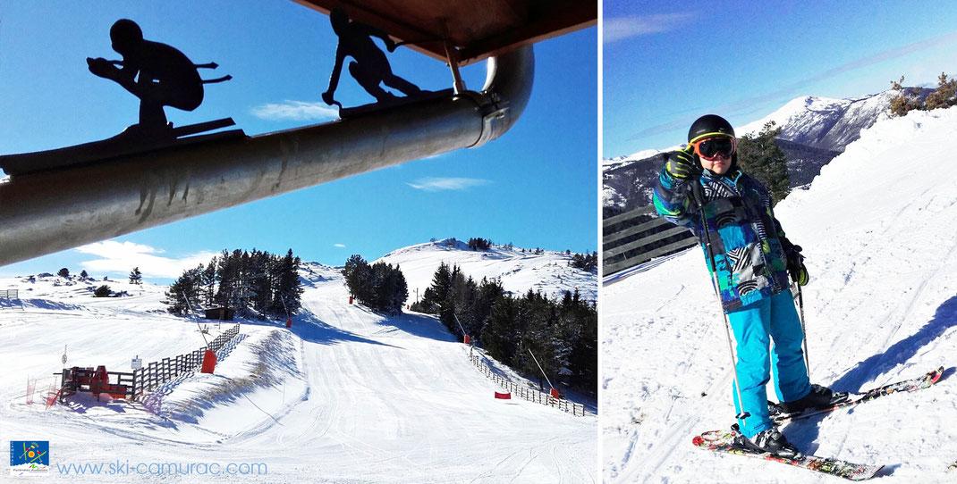 Ouverture de la station de ski de Camurac