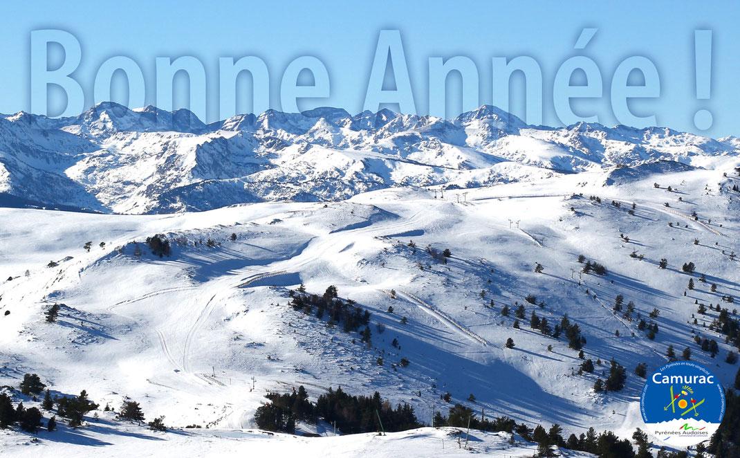 Station de ski de Camurac - Bonne Année 2018