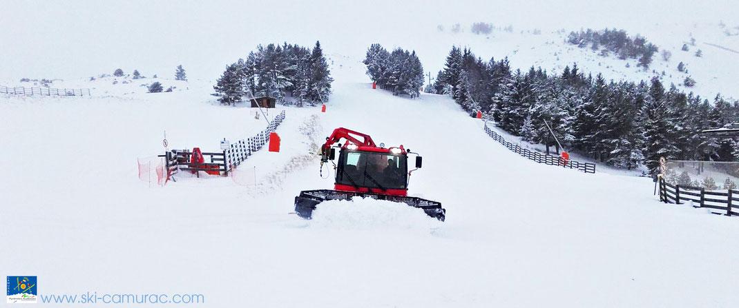 Ouverture 2016 de la Station de ski de Camurac