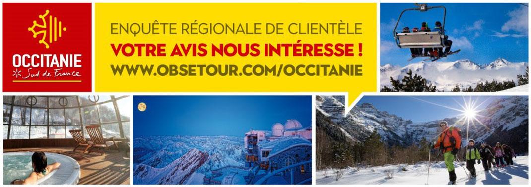 Enquête touristique Occitanie