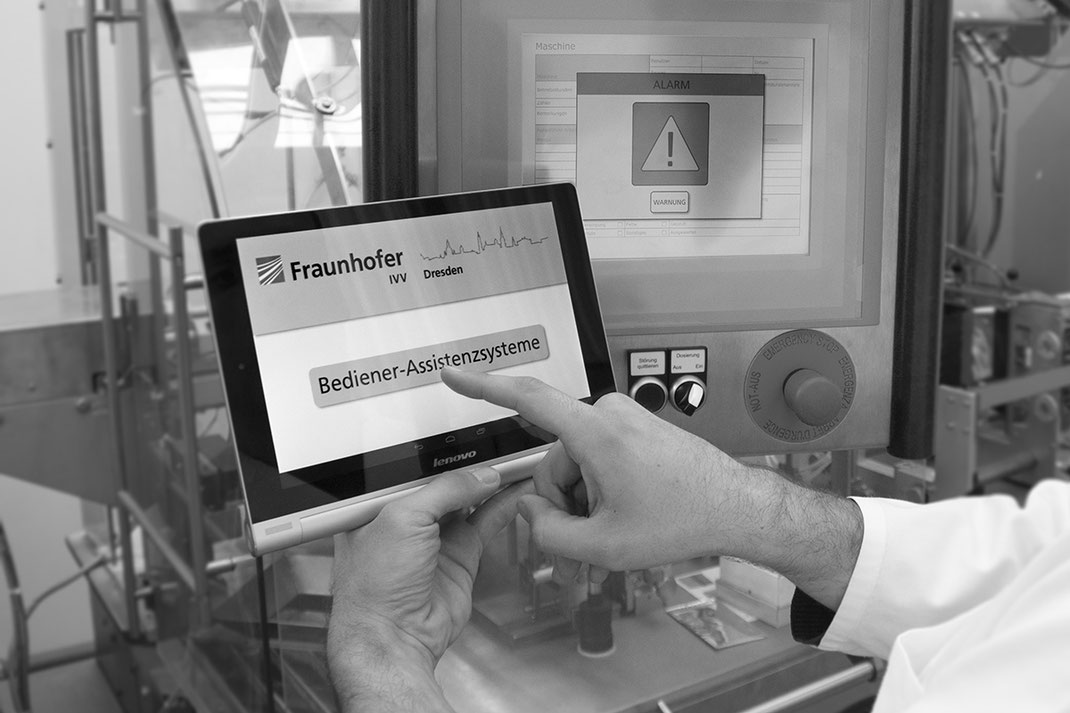 Fraunhofer IVV Bediener-Assistenzsystem