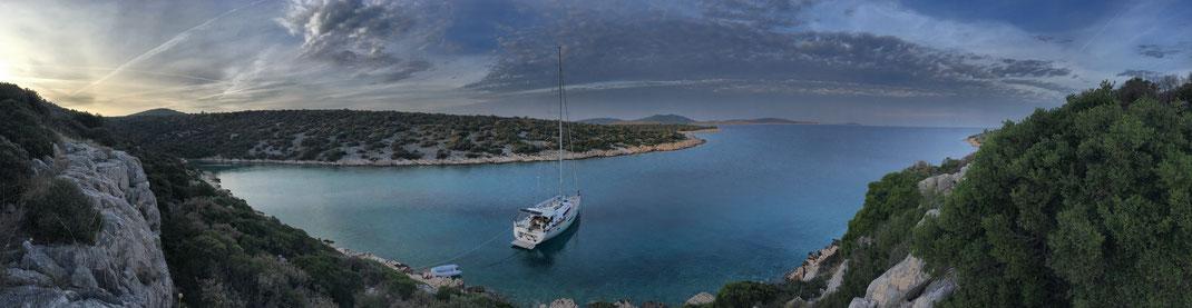 In der Bucht auf Kaprije