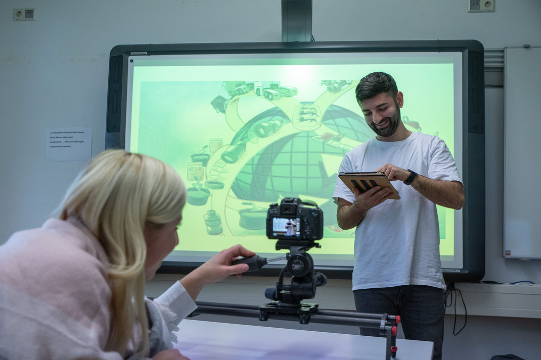 Ausbildungsbereich Medienbildung und Grundlagen der Informatik am SAF Kirchheim