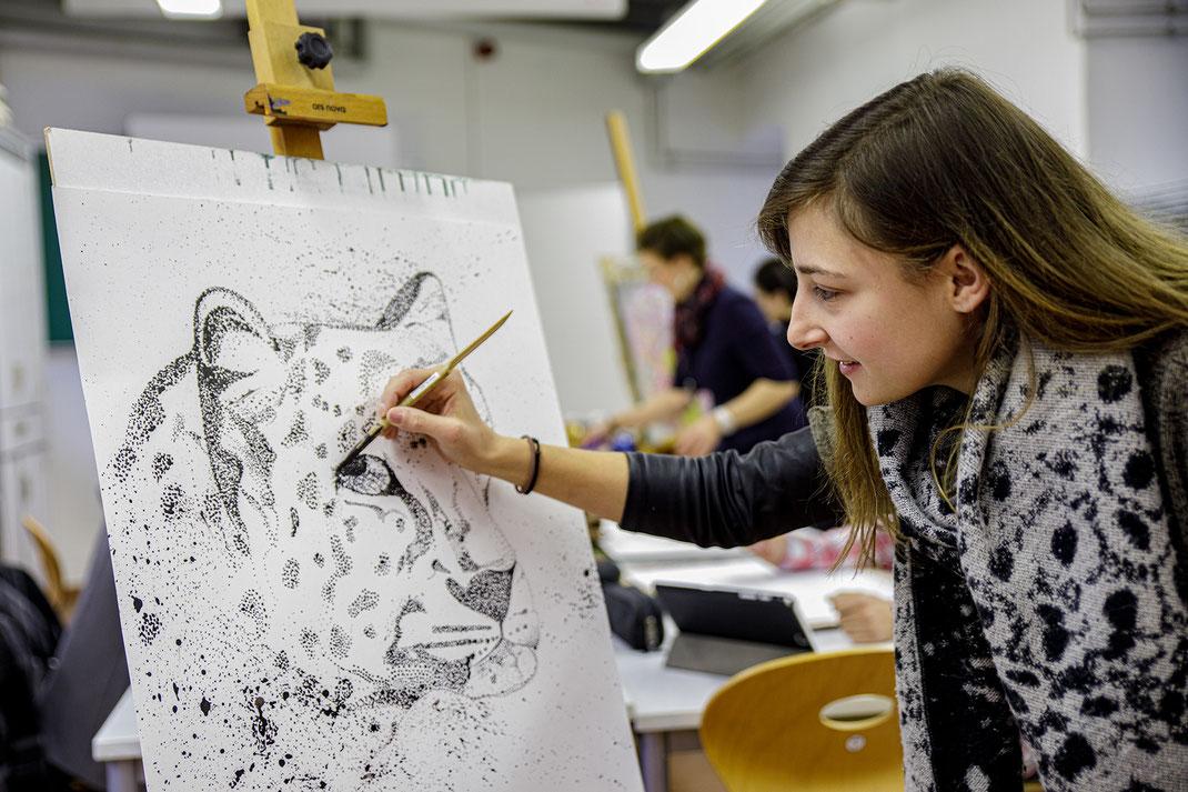 Die Ausbildung im Fach Bildende Kunst am SAF Kirchheim