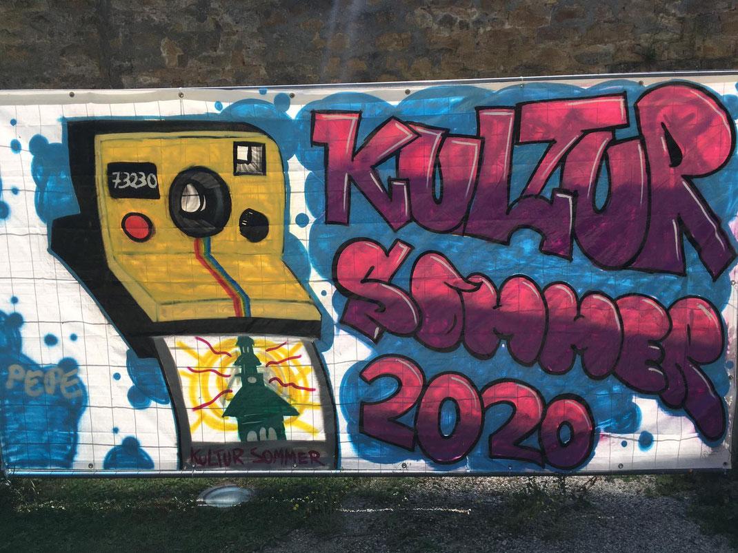 SAF Kirchheim - Graffiti im Marstallgarten