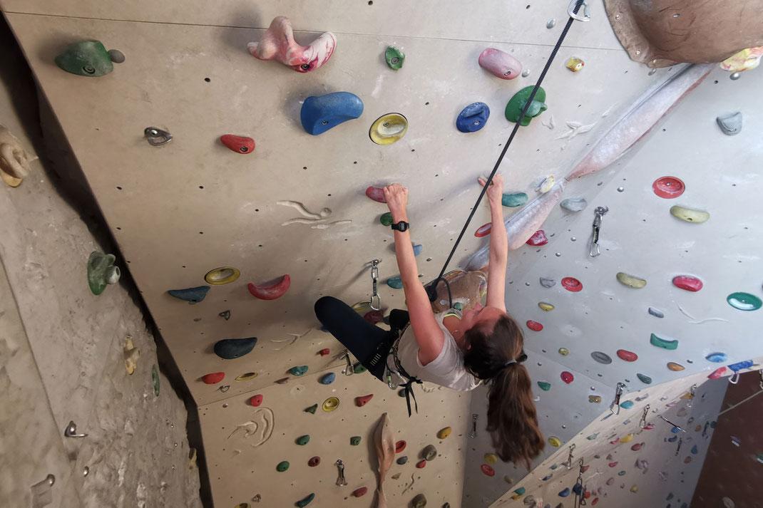 SAF Kirchheim - Lehrgang Klettern in der Landessportschule in Albstadt