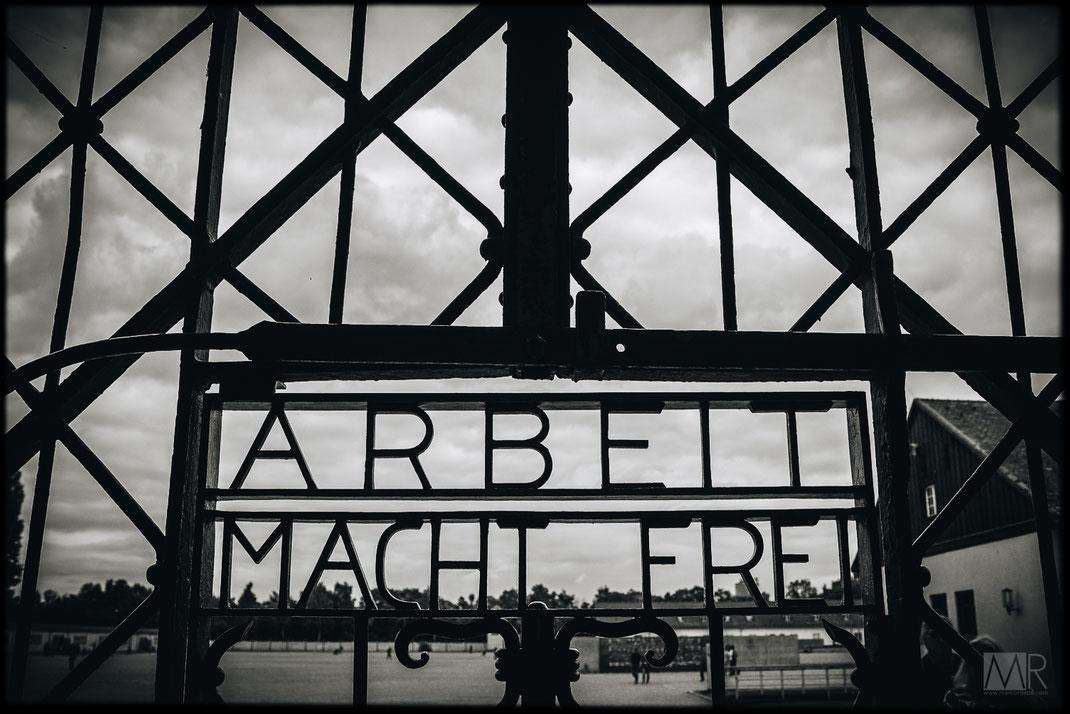 Ingresso del campo di concentramento di Dachau