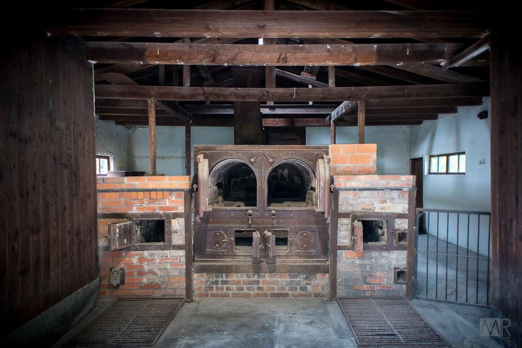 I vecchi forni crematori di Dachau