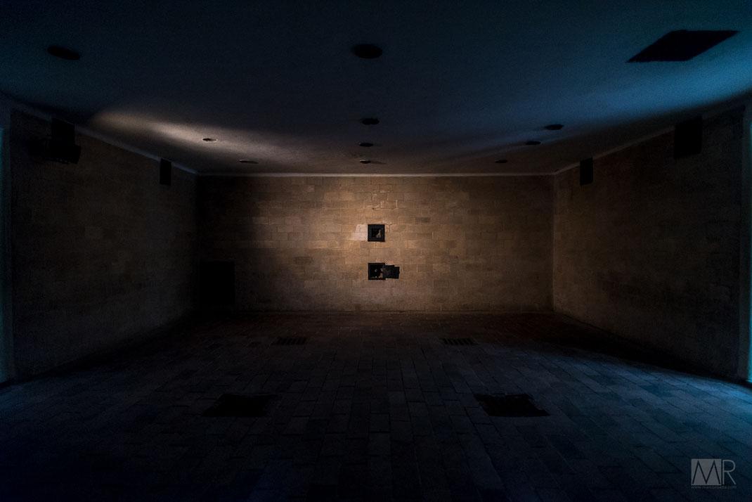 LA camera a gas del campo di concentramento di Dachau